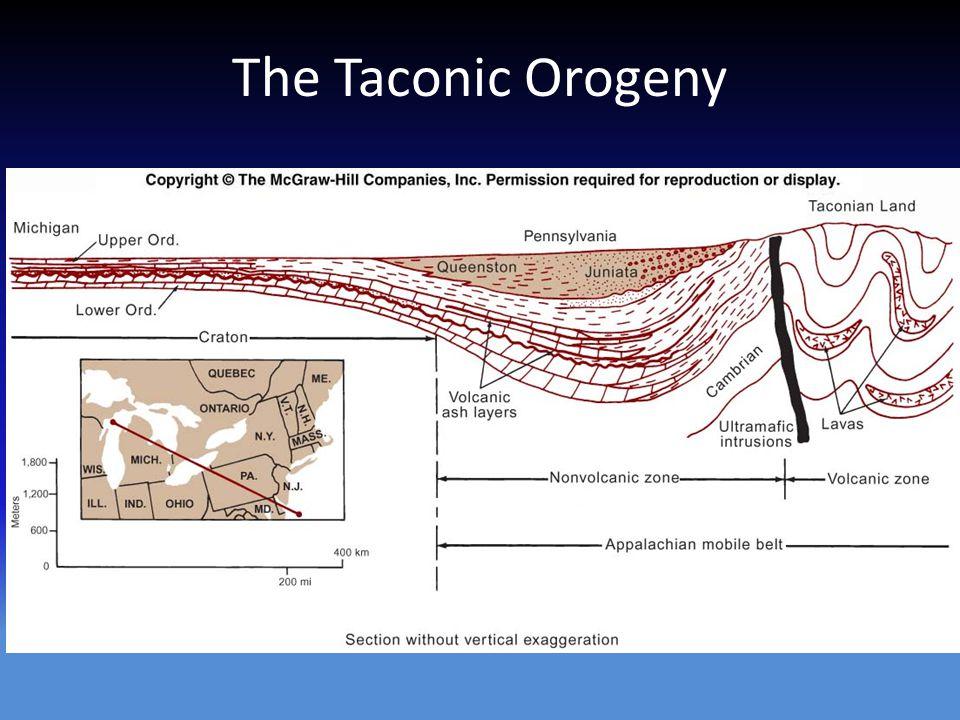 The Taconic Orogeny