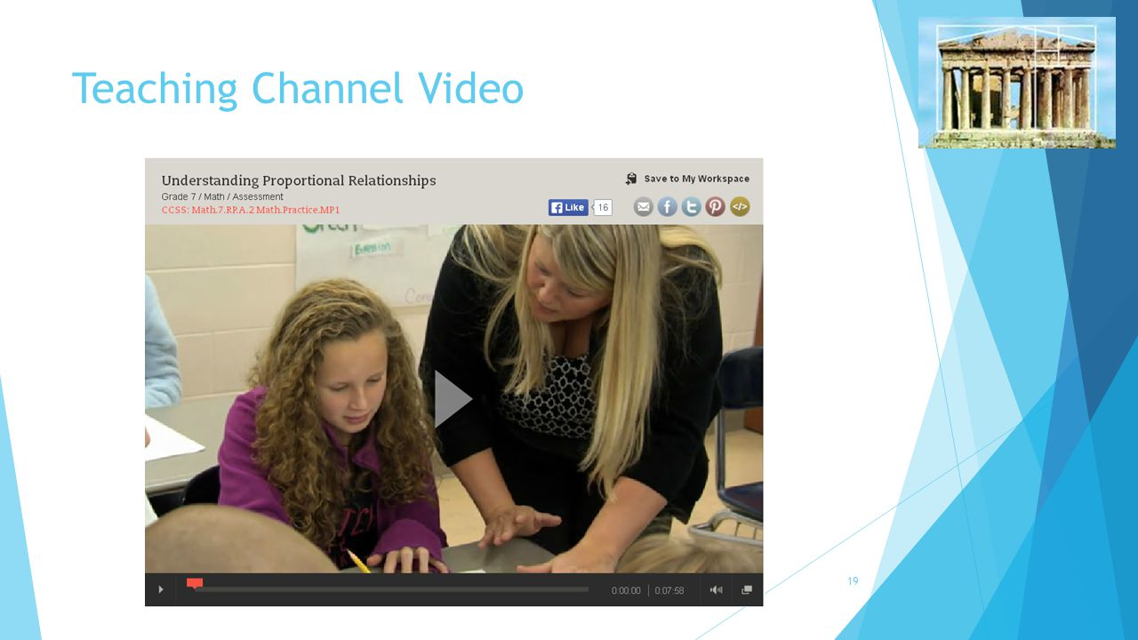 Teaching Channel Video 19