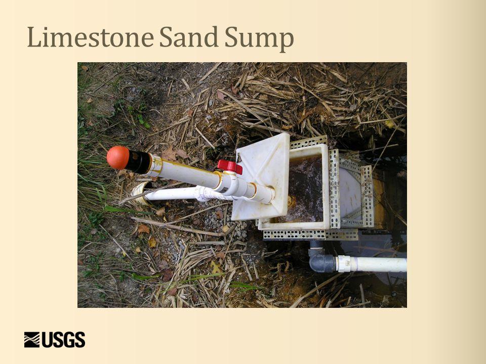 Limestone Sand Sump