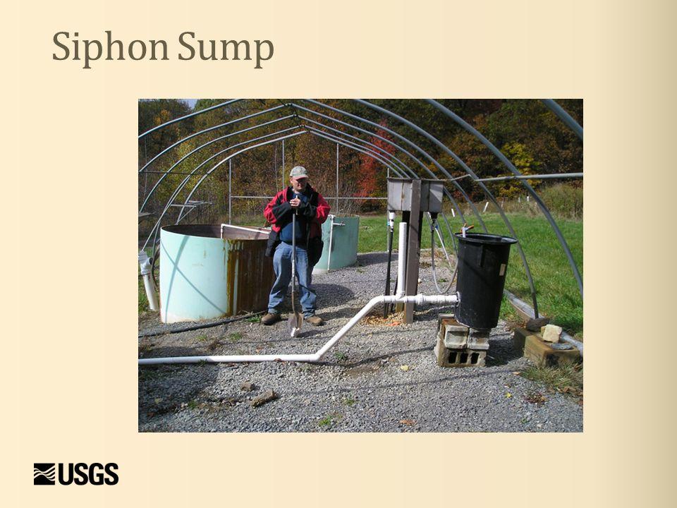 Siphon Sump