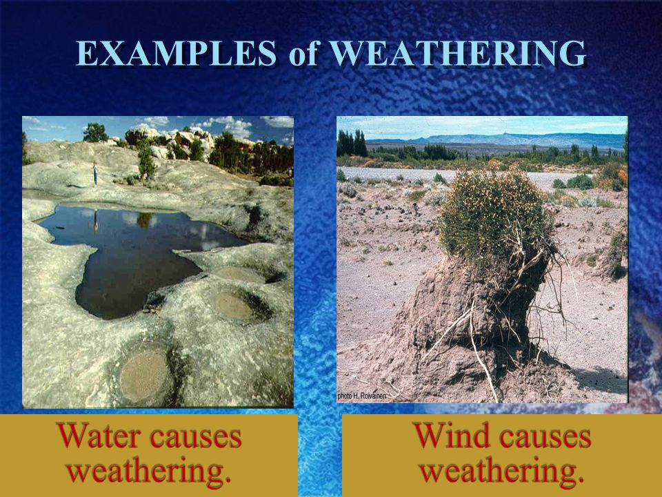 KNOWLEDGE CHECK 1.What is the difference between weathering and erosion.