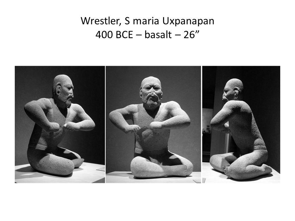 Wrestler, S maria Uxpanapan 400 BCE – basalt – 26