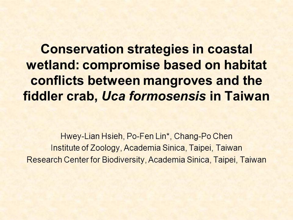 Outline 1.Taiwanese fiddler crab, Uca formosensis.