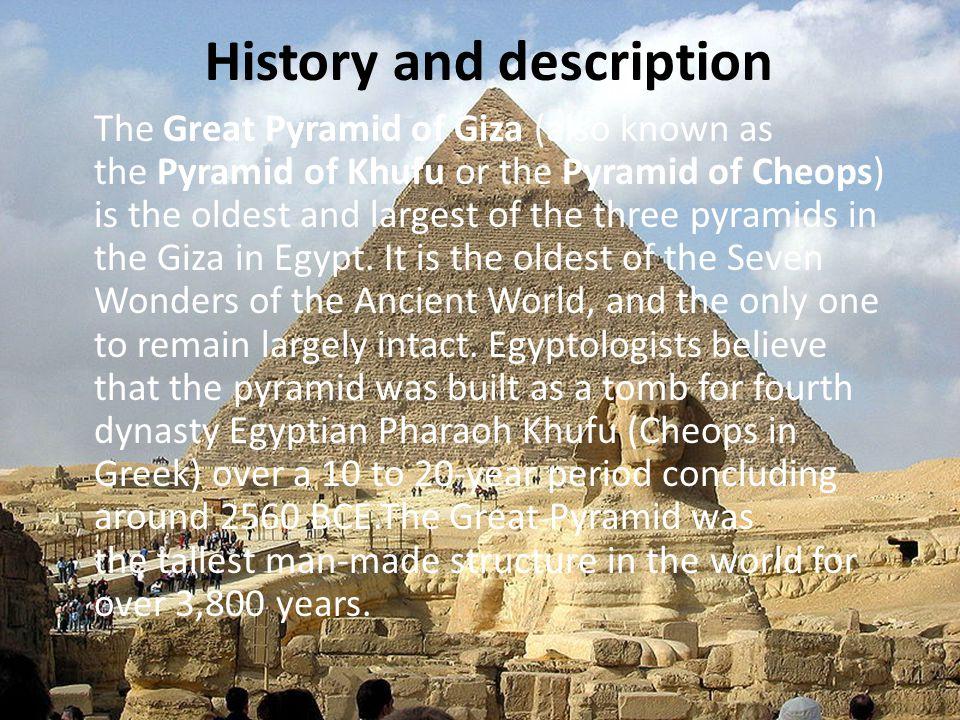 Great Pyramid of Giza Φωτεινή Χατζηδιαμαντή Χάρης Φρατζάκης