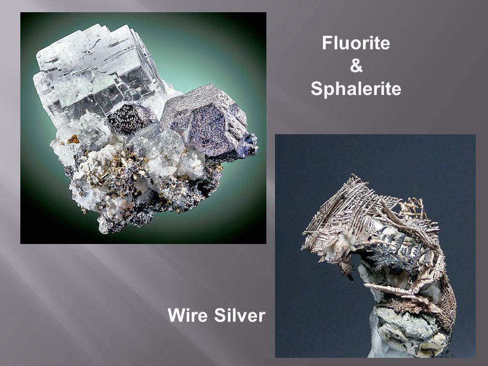 Fluorite Sphalerite Galena
