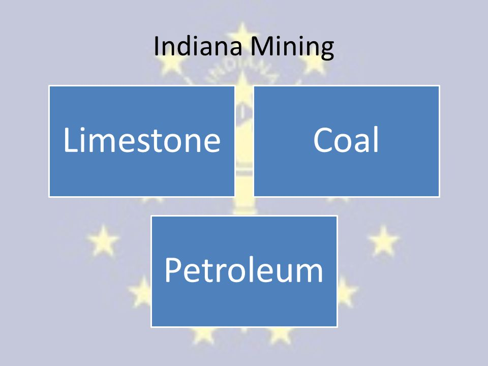 Indiana Mining LimestoneCoal Petroleum
