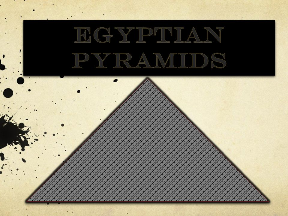 The Pyramids of Egypt Egypt's pyramids are the oldest stone buildings in the world.