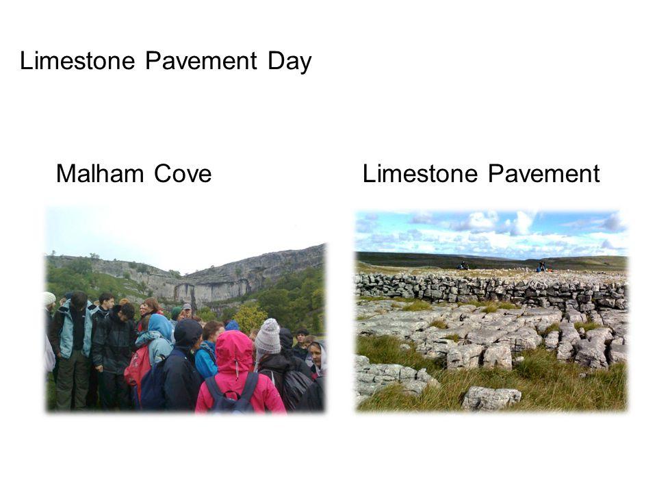 Limestone Pavement Day Malham Cove Limestone Pavement