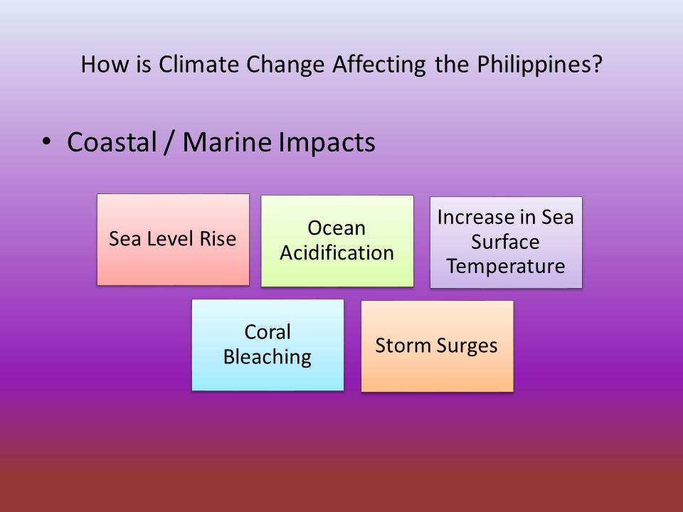 How is Climate Change Affecting the Philippines.