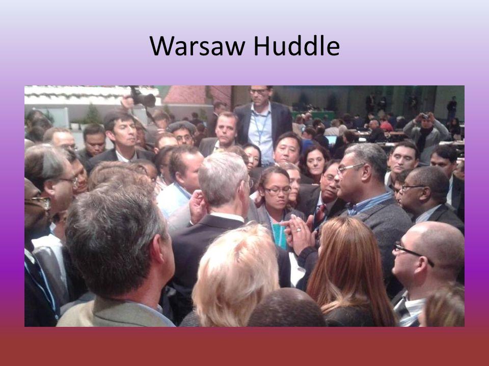 Warsaw Huddle