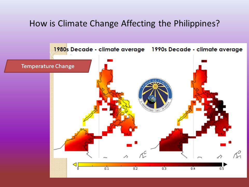 How is Climate Change Affecting the Philippines Temperature Change