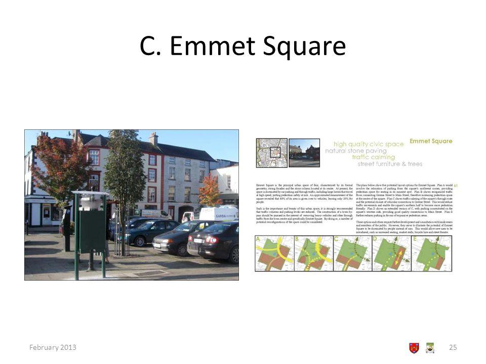 C. Emmet Square February 201325