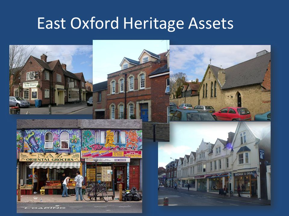 East Oxford Heritage Assets