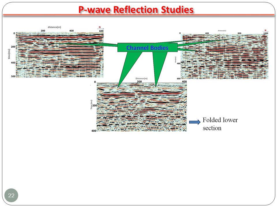 22 P-wave Reflection Studies