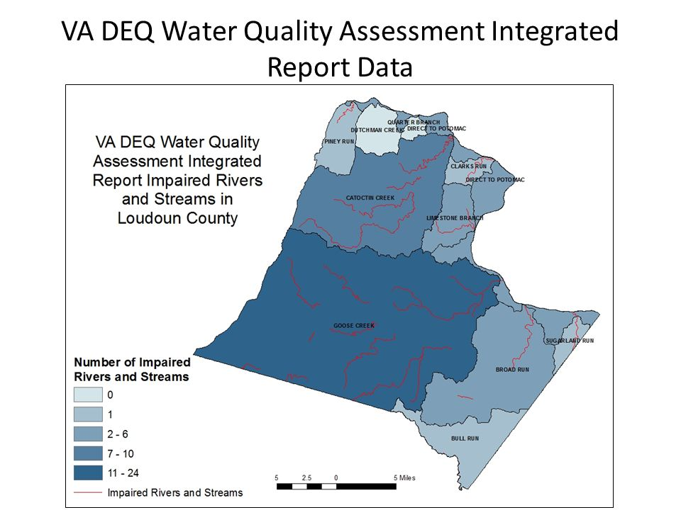 VA DEQ Water Quality Assessment Integrated Report Data
