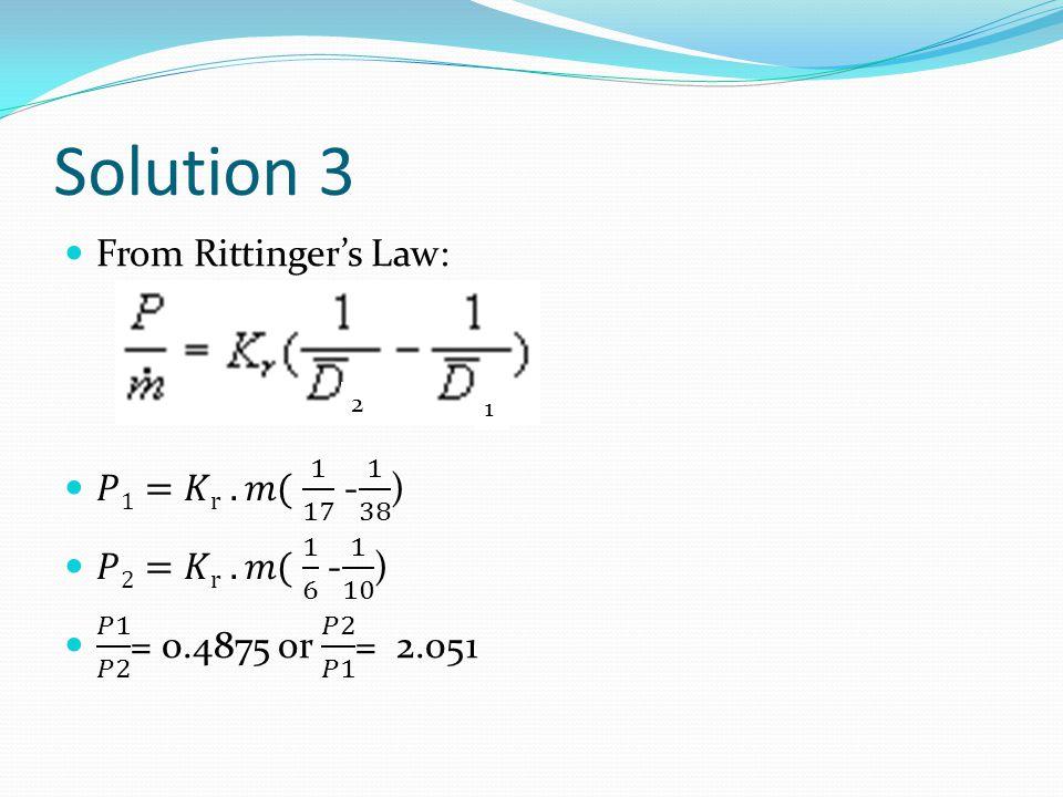 Solution 3 2 1