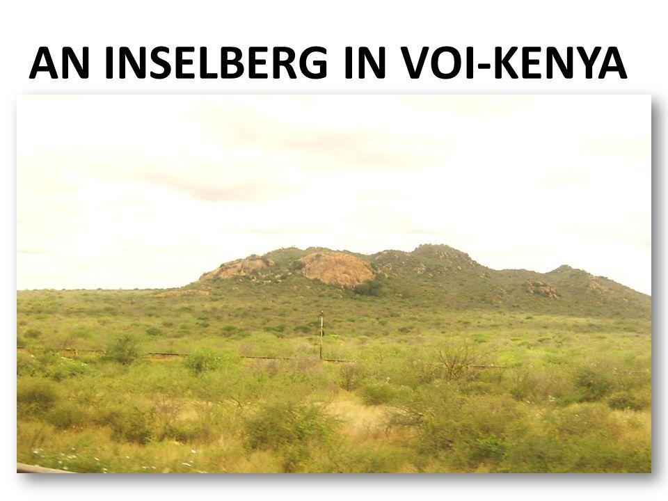AN INSELBERG IN VOI-KENYA