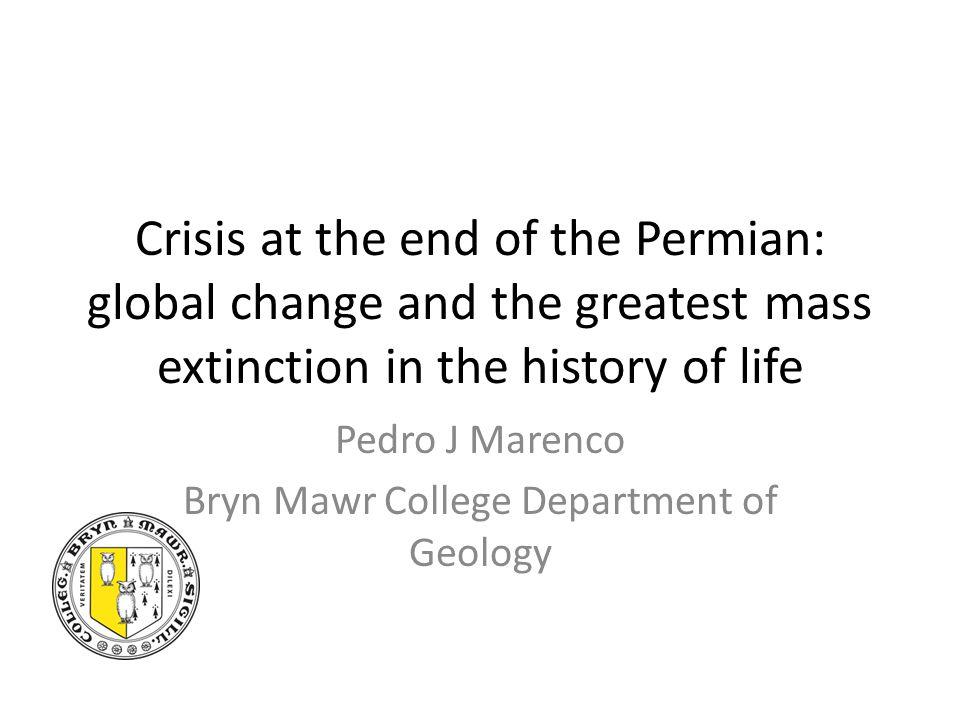 End Cretaceous Mass Extinction