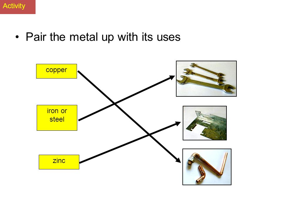 Uses The three most commonly known transition elements are iron or steel, copper and zinc. iron or steel General engineering metal copper Electrical a