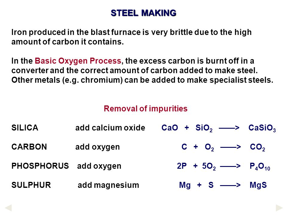 LIMITATIONS OF CARBON REDUCTION Theoretically, several other important metals can be extracted this way but are not because they combine with the carb