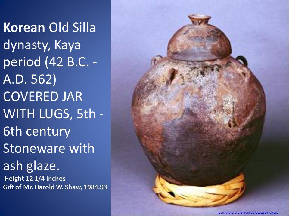 Korean Old Silla dynasty, Kaya period (42 B.C. - A.D.