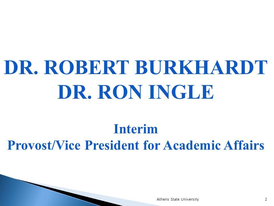 DR. ROBERT BURKHARDT DR.