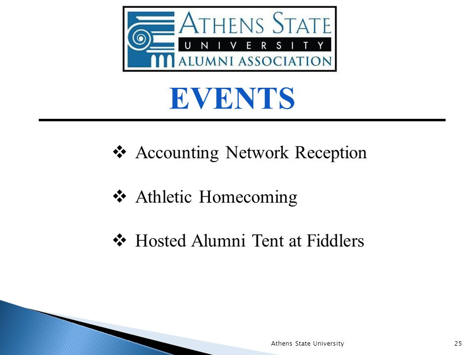  Accounting Network Reception  Athletic Homecoming  Hosted Alumni Tent at Fiddlers EVENTS Athens State University25