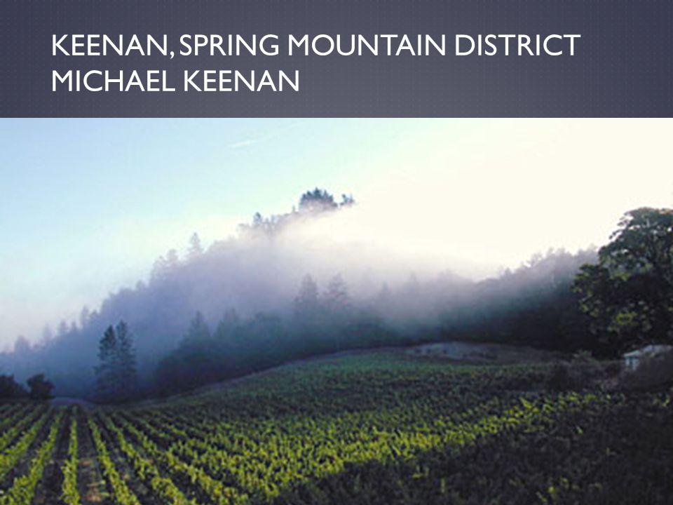 KEENAN, SPRING MOUNTAIN DISTRICT MICHAEL KEENAN