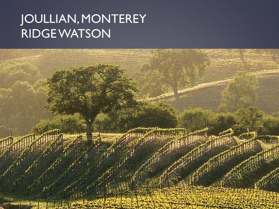 JOULLIAN, MONTEREY RIDGE WATSON