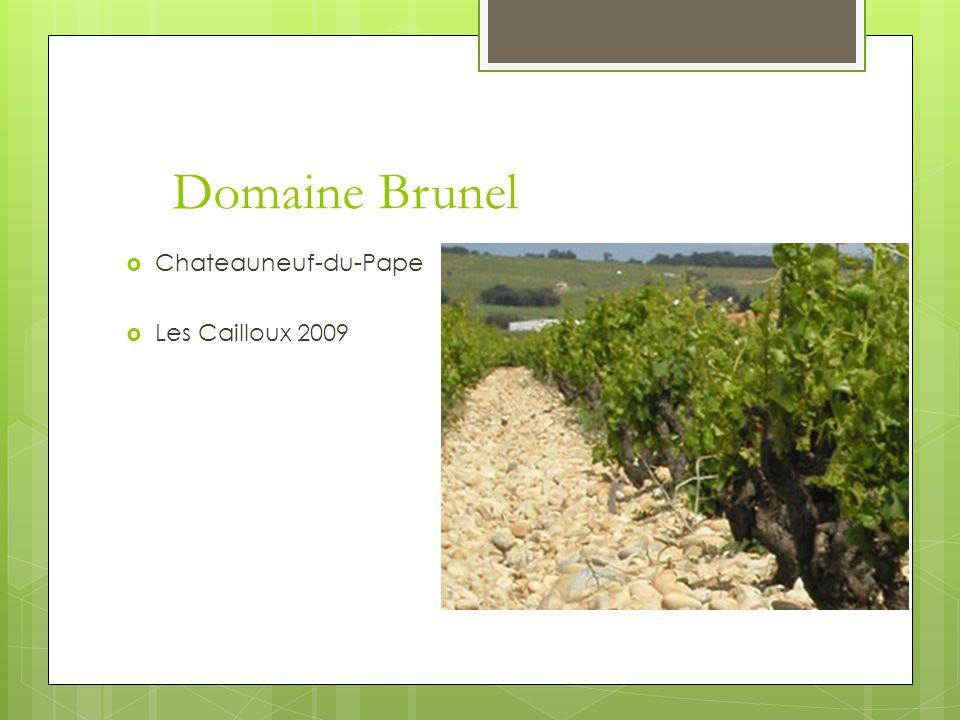 Domaine Brunel  Chateauneuf-du-Pape  Les Cailloux 2009