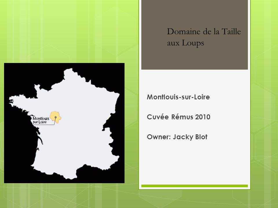 Montlouis-sur-Loire Cuvée Rémus 2010 Owner: Jacky Blot Domaine de la Taille aux Loups