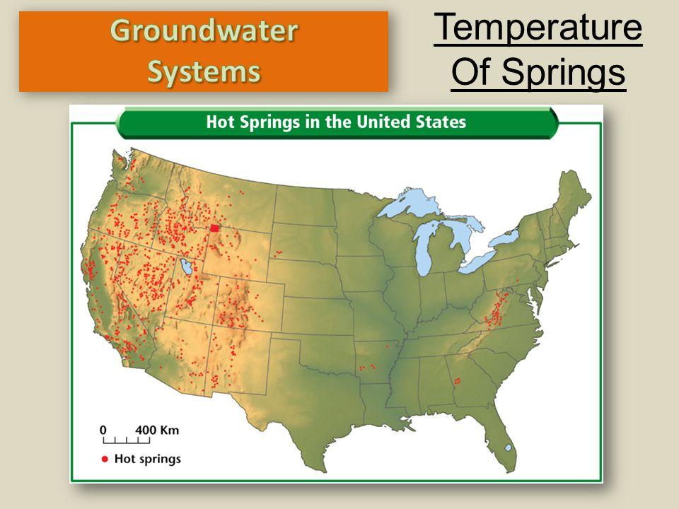 Temperature Of Springs