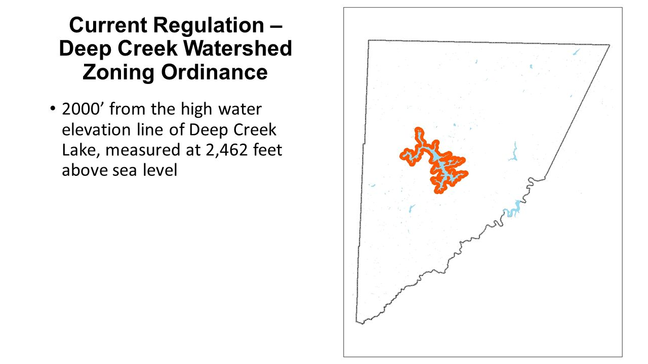 Proposed Regulation – Appendix A: Location Restrictions and Setbacks Restriction #5e: The edge of disturbance of a well pad shall be at least 1000 feet of known caves.