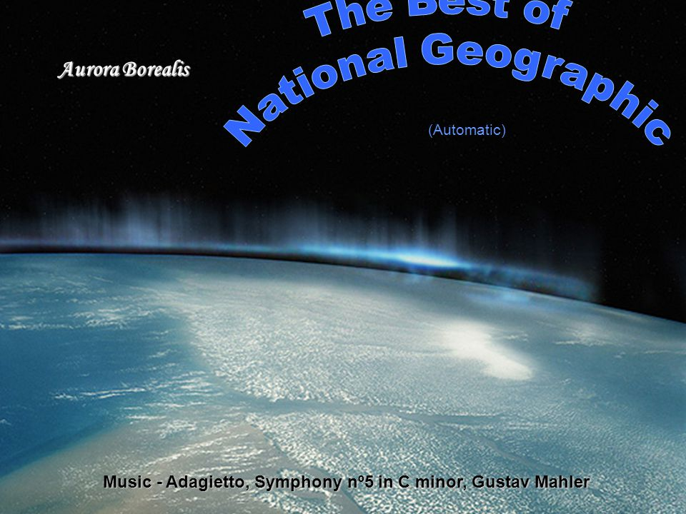 Aurora Borealis Music - Adagietto, Symphony nº5 in C minor, Gustav Mahler (Automatic)