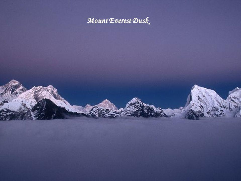 Mount Everest Dusk