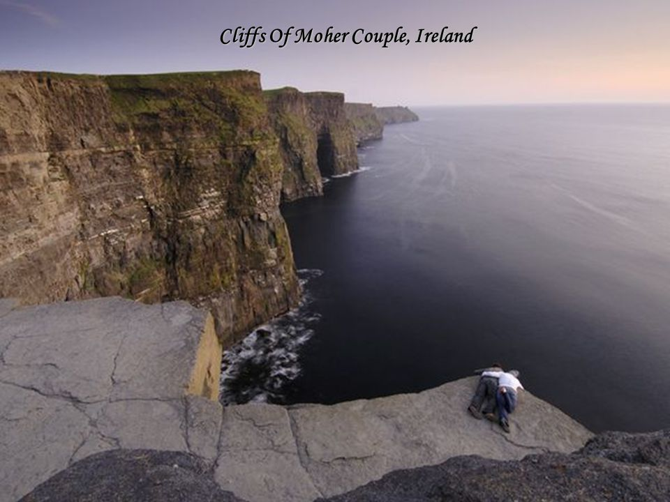 Cliffs Of Moher Couple, Ireland
