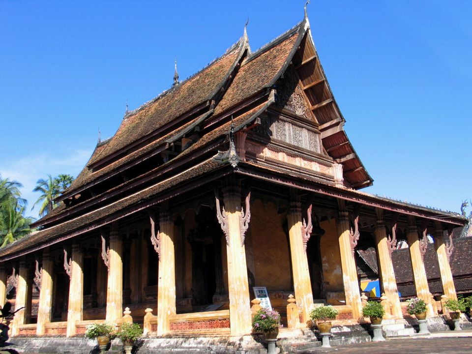 15 km from the airport (around 20 mn drive) Main spots to visit: Vat Sisaket, the morning market, the Patouxai, That Luang Stupa.