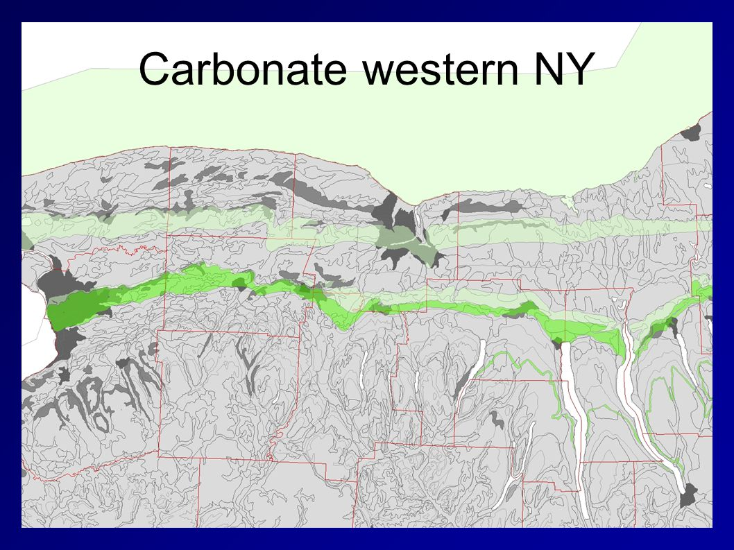 Carbonate western NY