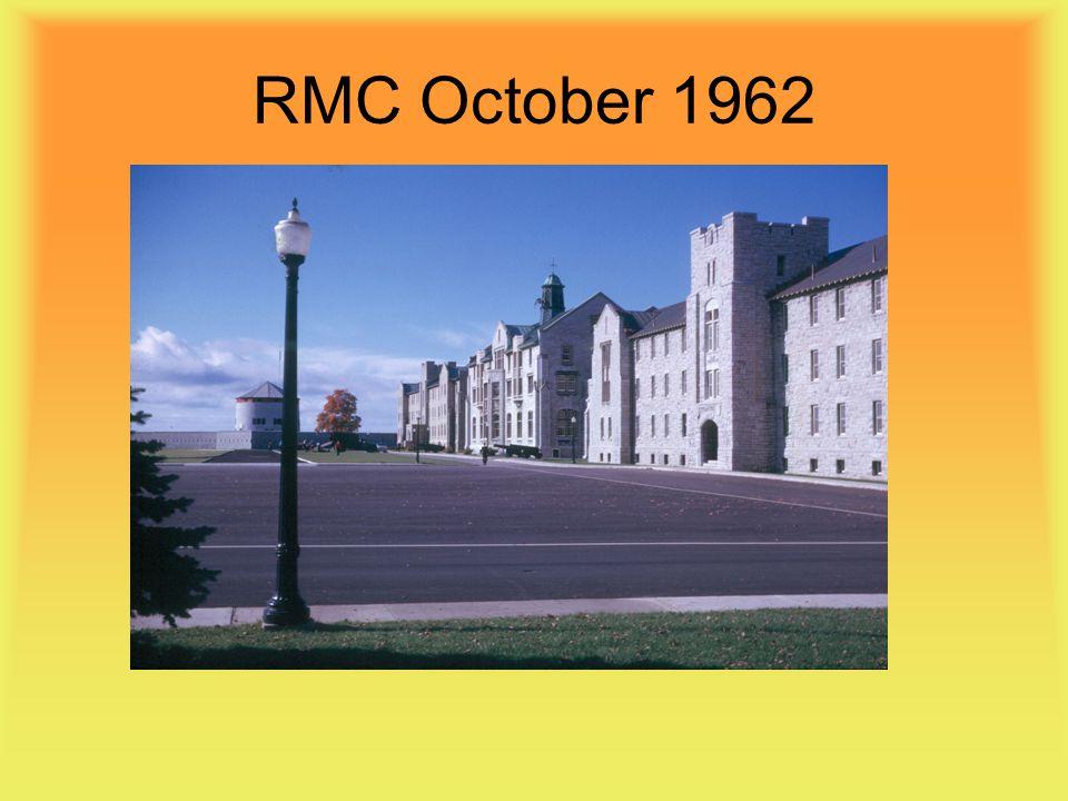 RMC October 1962