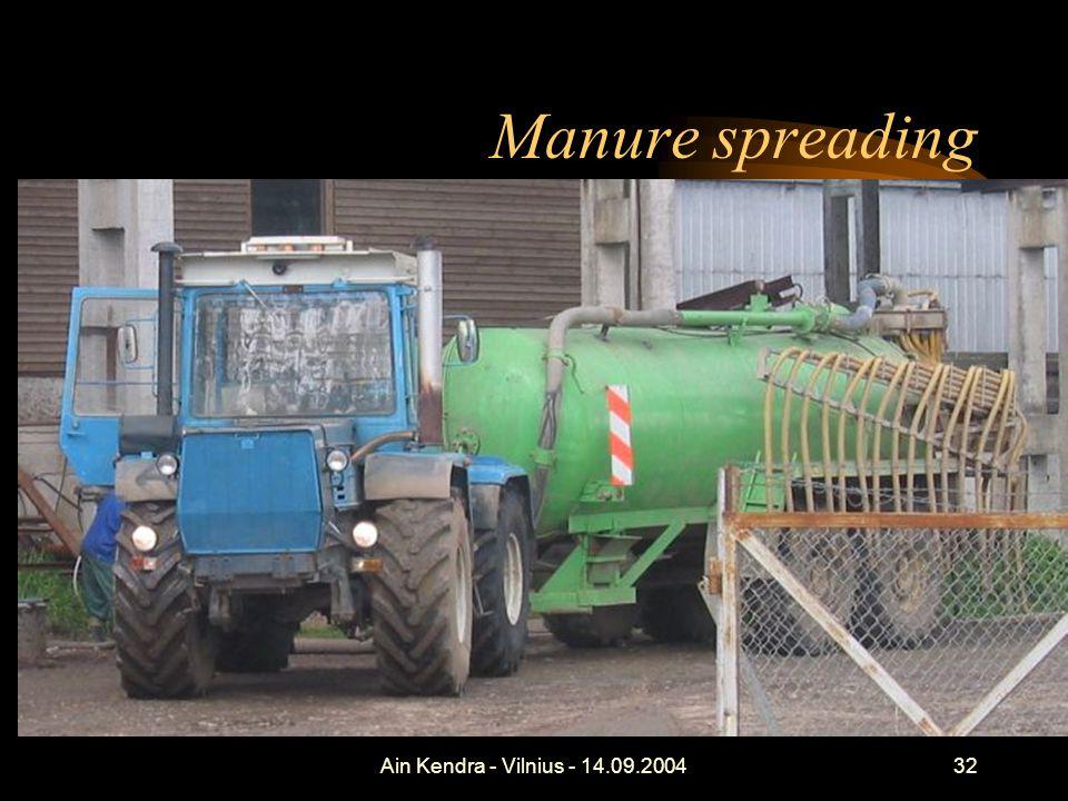Ain Kendra - Vilnius - 14.09.200432 Manure spreading