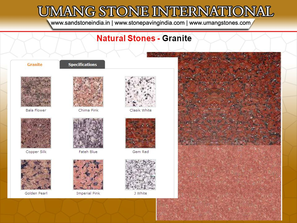 STONE PRODUCTS - Pool Copings