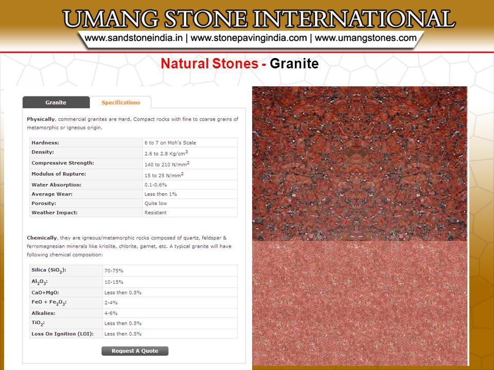 Natural Stones - Limestone