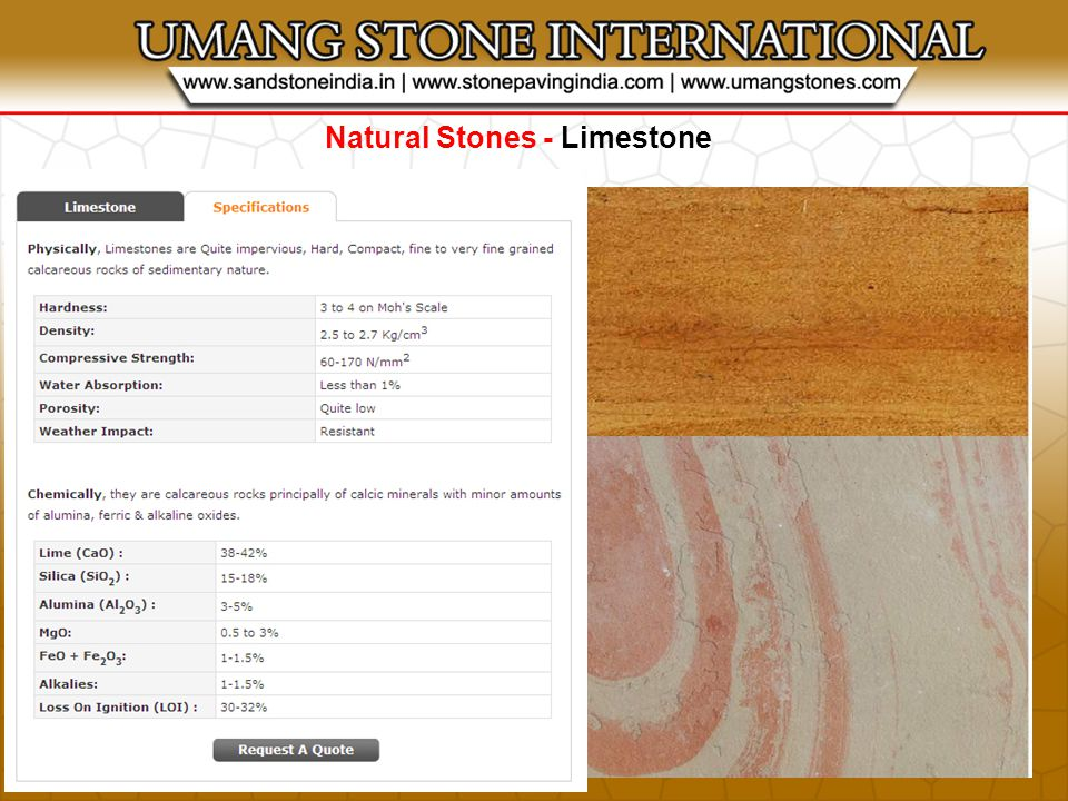 STONE PRODUCTS - Stone Blocks
