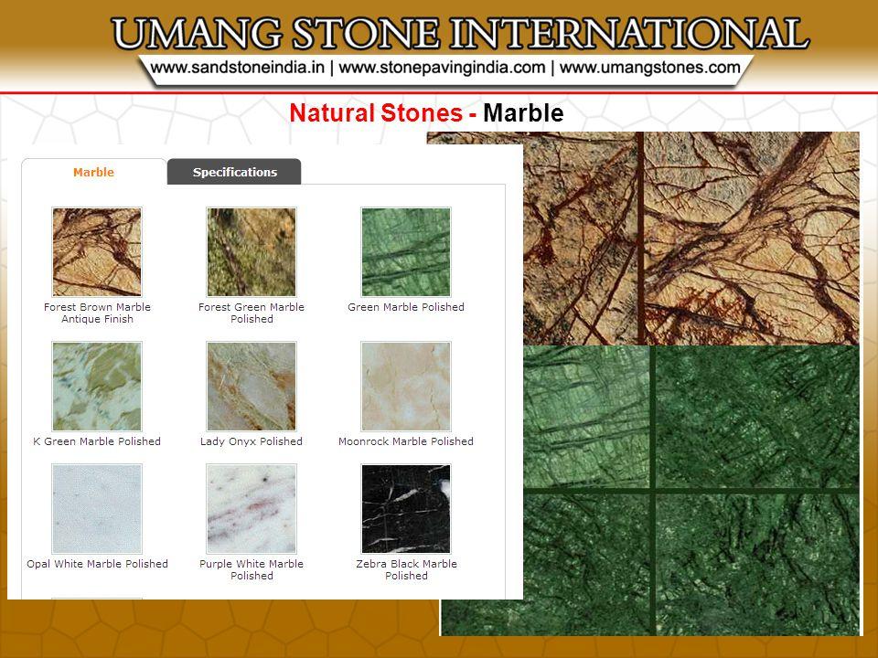 STONE PRODUCTS - Stone Bricks