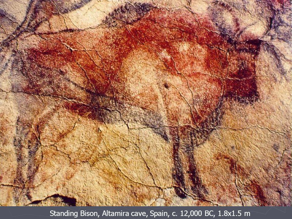 Standing Bison, Altamira cave, Spain, c. 12,000 BC, 1.8x1.5 m