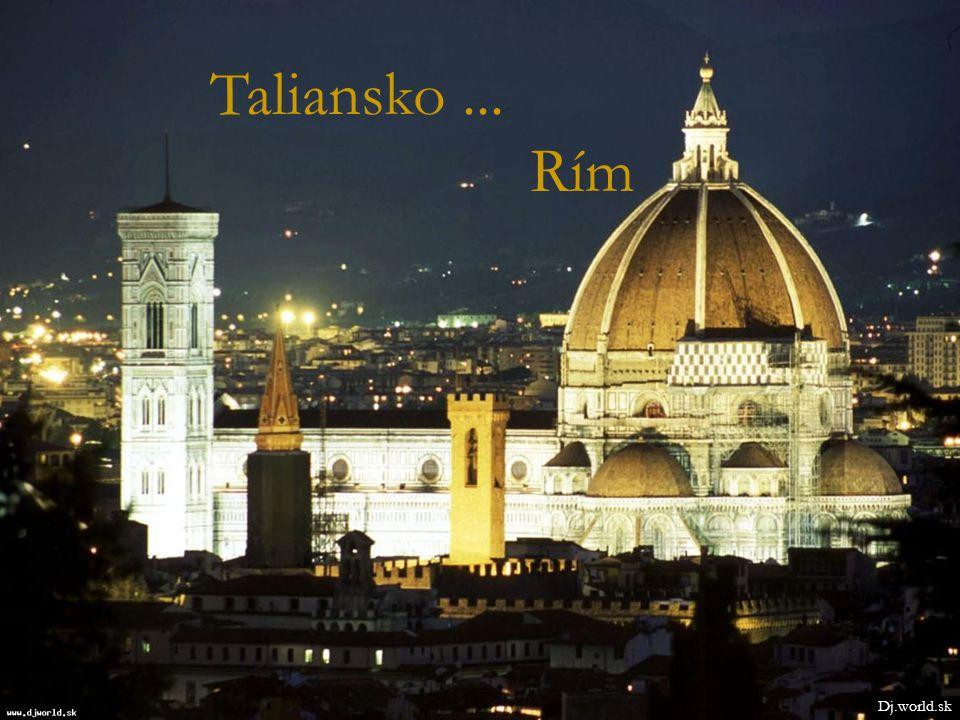 Taliansko... Rím Dj.world.sk