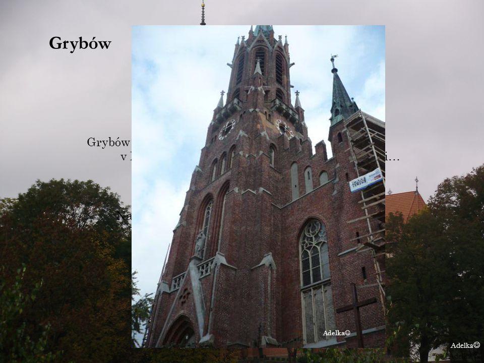 Grybów Grybów je mesto v Poľsku v Malopoľskom vojvodstve County Nowosadecki… Najviac ma v ňom zaujal kościót pri Rynku a chutné krówky Adelka