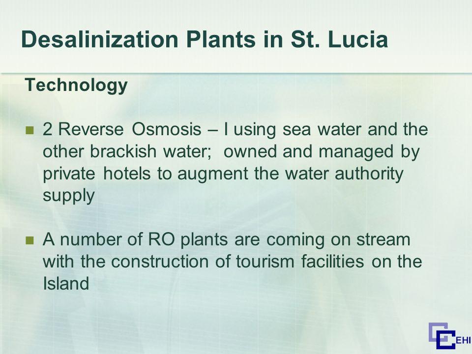 Desalinization Plants in St.