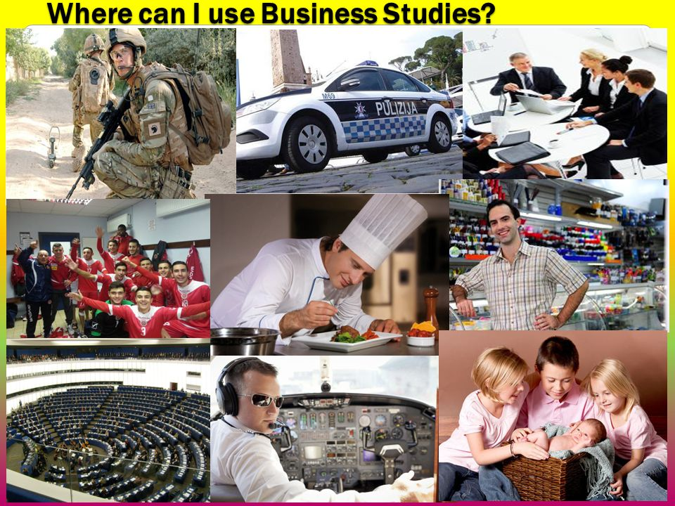 Where can I use Business Studies 4
