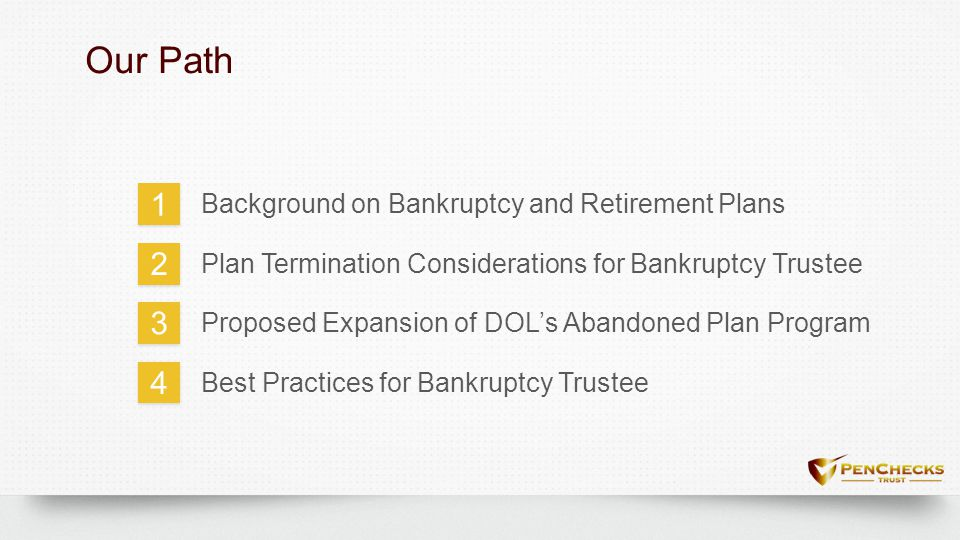 Proposed Expansion of DOL's Abandoned Plan Program